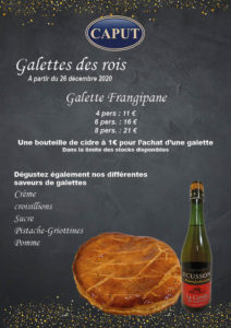 Affiche galettes